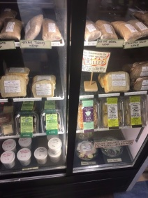 Grab-N-Go wraps, salads, and ready to heat grilled sandwiches.
